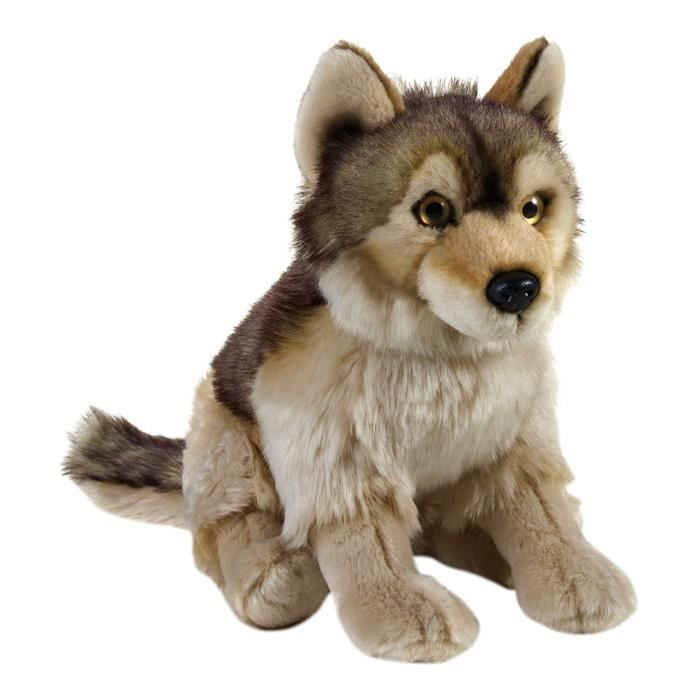 Lelly 770758 - National Geographic Wolf Lelly, Hauteur 25 cm