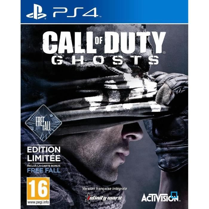 JEU PS4 Call Of Duty Ghosts Edition Free Fall Jeu PS4