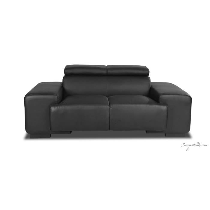 canap cuir achat vente canap sofa divan cuir. Black Bedroom Furniture Sets. Home Design Ideas