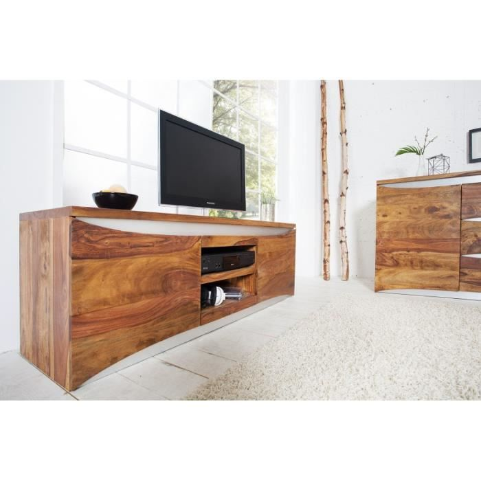 meuble tv design bood bois achat vente meuble tv. Black Bedroom Furniture Sets. Home Design Ideas