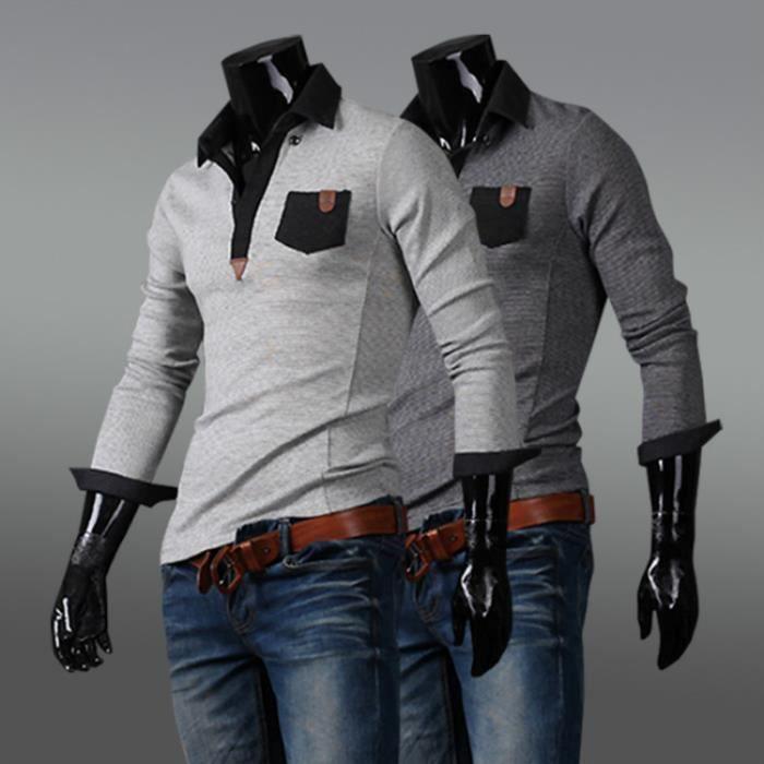T-SHIRT Les t - shirts à manches longues Gris clair
