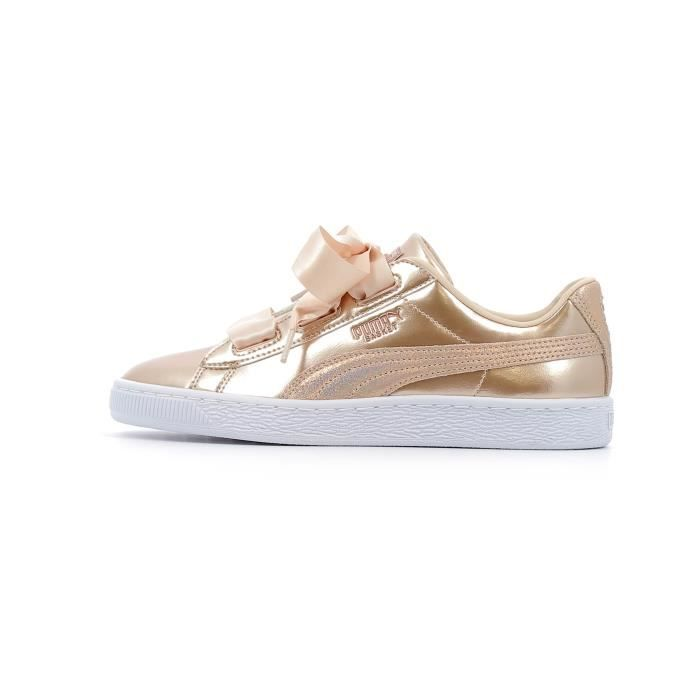 basses Cream Lunar Puma Lux coloris Tan Baby Heart Baskets 0qdnUgt0