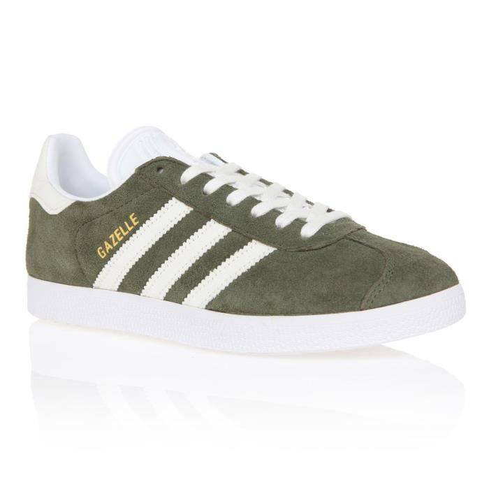 ADIDAS ORIGINALS Baskets GAZELLE KAKI