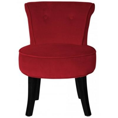 fauteuil crapaud velours rouge achat vente fauteuil rouge cdiscount. Black Bedroom Furniture Sets. Home Design Ideas