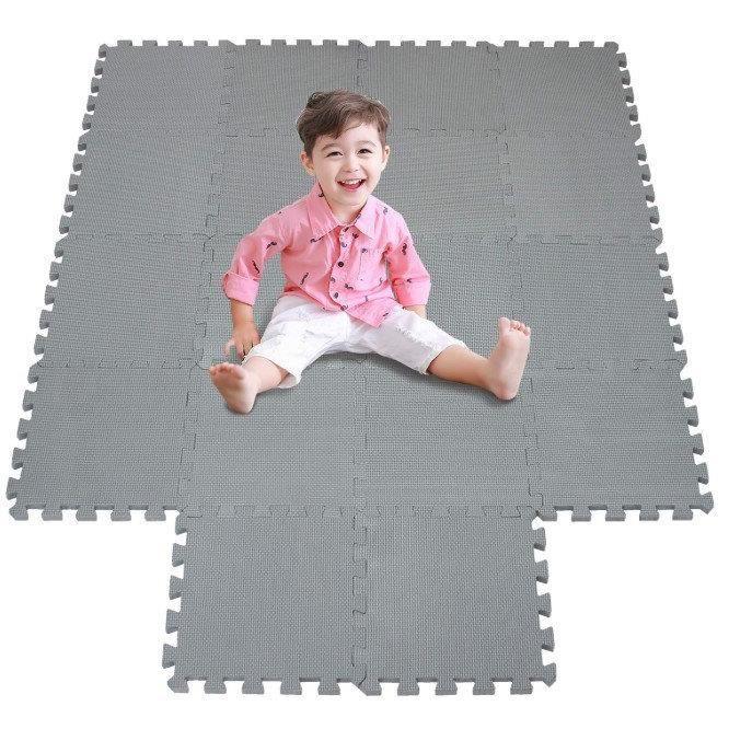Sport Yoga tapis Tapis de sol Coussin de mousse Eva Tapis de jeu pour bébé
