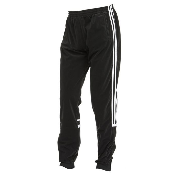 adidas pantalon de surv tement homme noir et blanc achat vente pantalon cdiscount. Black Bedroom Furniture Sets. Home Design Ideas