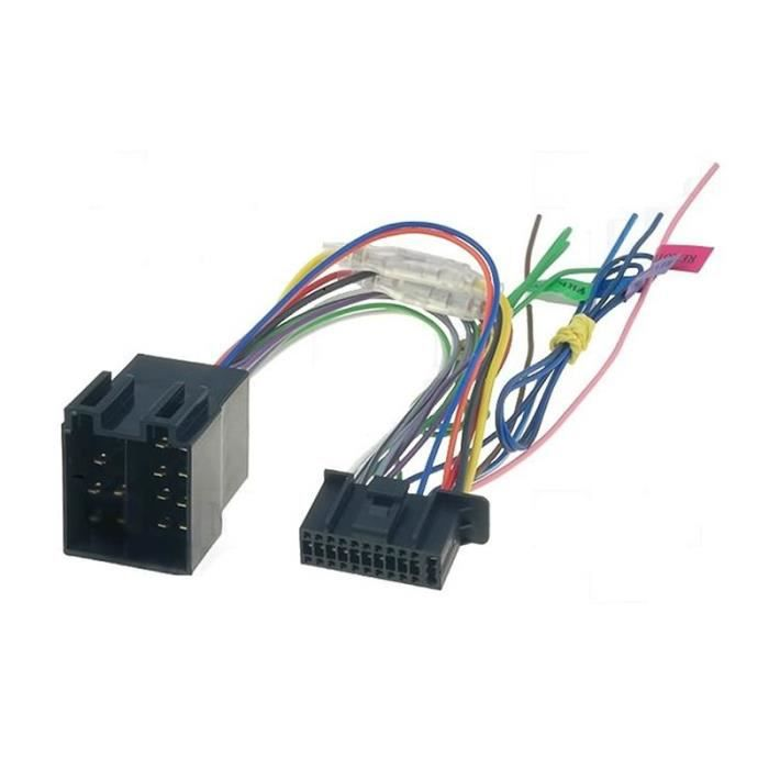 c ble adaptateur connecteur faisceau iso pour autoradio kenwood 22 pin achat vente. Black Bedroom Furniture Sets. Home Design Ideas