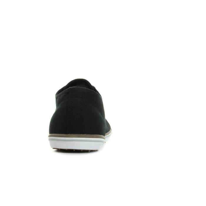 Baskets Fred Perry Kingston Twill Black Driftwood