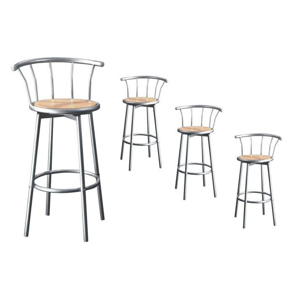 tabouret de bar alu achat vente tabouret de bar alu. Black Bedroom Furniture Sets. Home Design Ideas