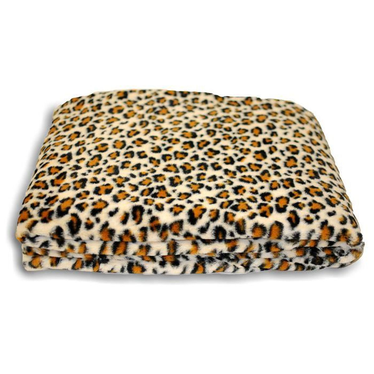 couverture leopard achat vente couverture leopard pas cher cdiscount. Black Bedroom Furniture Sets. Home Design Ideas