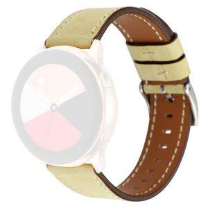 MONTRE CONNECTÉE Bracelet de rechange en cuir de première qualité p