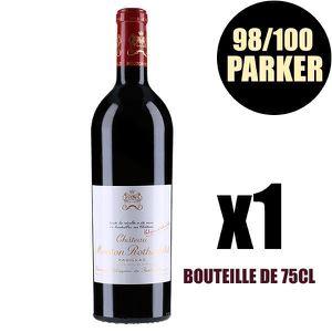 VIN ROUGE X1 Château Mouton Rothschild  2015 75 cl AOC Pauil