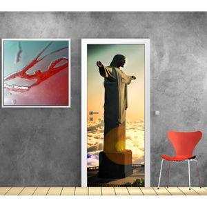 PAPIER PEINT Papier peint porte déco - Rio de Janeiro - dimensi