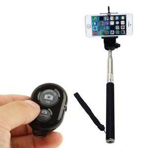 FIXATION - SUPPORT Perche Selfie Telescopique telecommande bluetooth