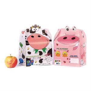 BOITE ALIMENTAIRE Bizzi Boîtes de animaux Assortiment de ferme Craft
