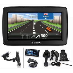 PACK GPS AUTO TEENO LCD tactile GPS Navigation Europe 48 Cartogr