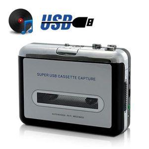 RADIO CD CASSETTE Lecteur Cassette Portable USB Convertisseur Audio