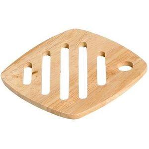 DESSOUS DE PLAT  COSY&TRENDY 09551 Dessous de plat carré bois 18Cm