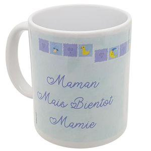 MUG - TASSE - MAZAGRAN Mug Cadeau Annonce Grossesse Naissance garçon Mama