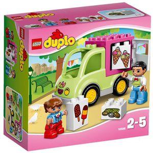 ASSEMBLAGE CONSTRUCTION LEGO® DUPLO 10586 La Camionnette de Glaces