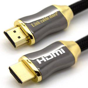 CÂBLE AUDIO VIDÉO LCS - Orion 0,5M - Câble HDMI 1.4 - 2.0 - 2.0 a/b