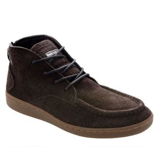 BOTTINE DIESEL Bottines cuir suédé  SPARK homme marron