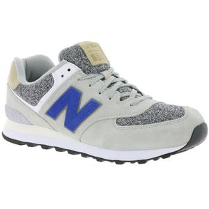 Gris New Balance 574 Basket Irisé k0P8Own