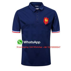 MAILLOT DE RUGBY Maillot Equipe de France Polo Rugby Homme Pas Cher