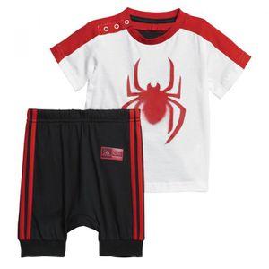 Ensemble de vêtements Ensemble adidas Performance Marvel Spider-Man Summ