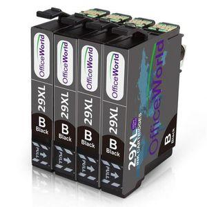 PACK CARTOUCHES Compatible cartouches d'encre Epson 29 XL noire po