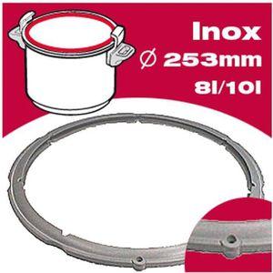 ACCESSOIRE AUTOCUISEUR SEB Joint autocuiseur inox 980158 8-10L Ø25,3cm gr