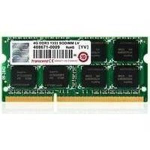 MÉMOIRE RAM Transcend - DDR3 - 4 Go - SO DIMM 204 broches -…