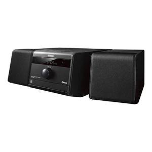 CHAINE HI-FI YAMAHA  MCR-B020 Noir - Micro-chaîne Hi-Fi - Puiss