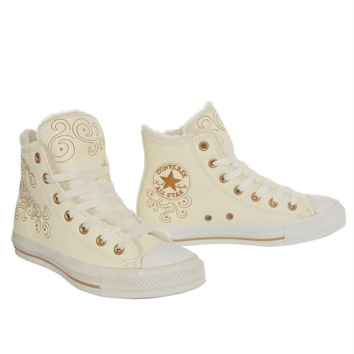 converse cuire femme