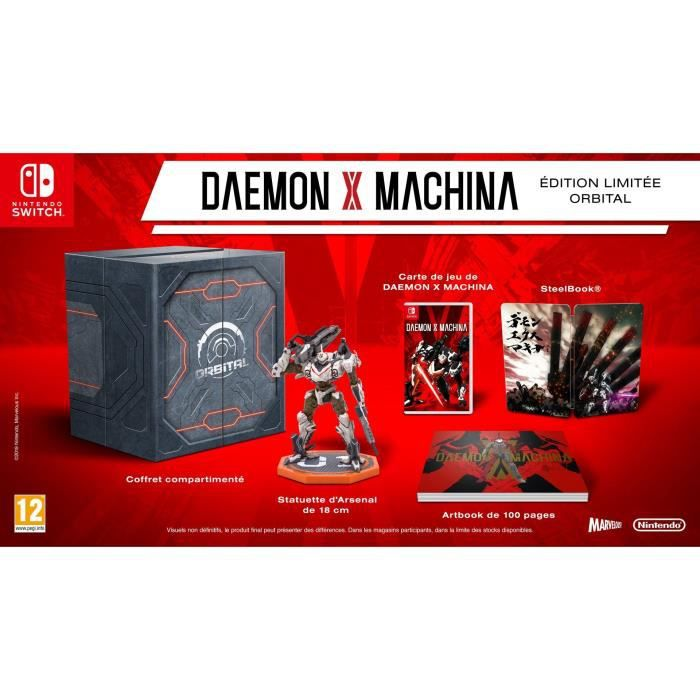 DEAMON X MACHINA - Edition Collector Jeu Switch