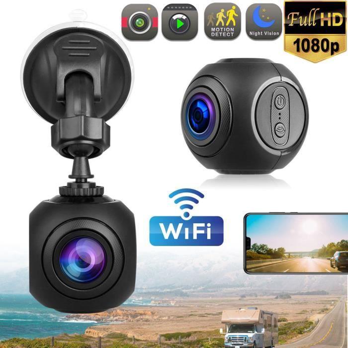 Caméra de tableau de bord Mini caméra WiFi FHD 1080P GPS avec tableau de bord W - G-Sensor Night Vision TZZ90312666 CAMERA
