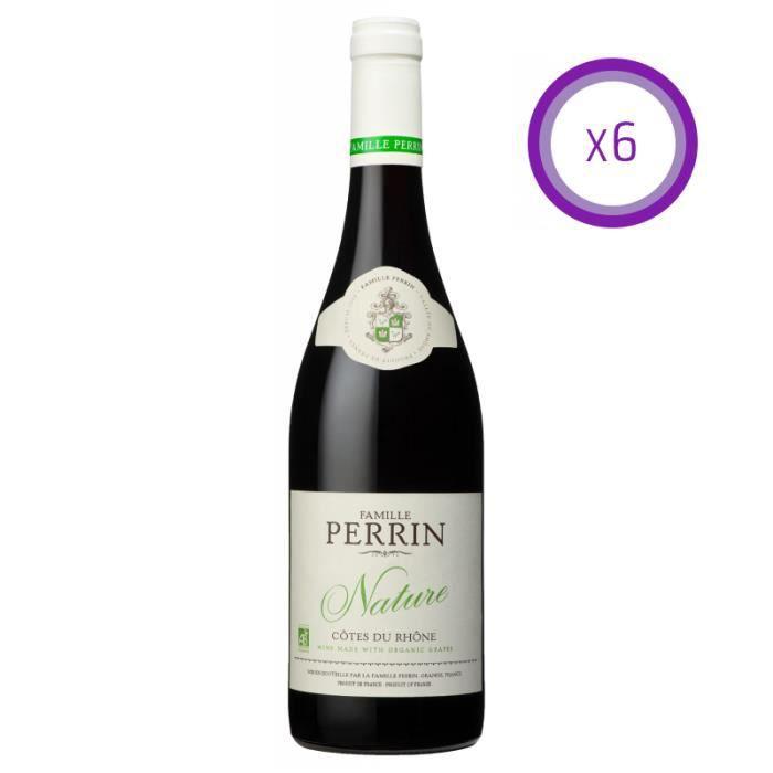 Famille Perrin - Nature - Côtes du Rhône - Rouge - 2019 - 75cl
