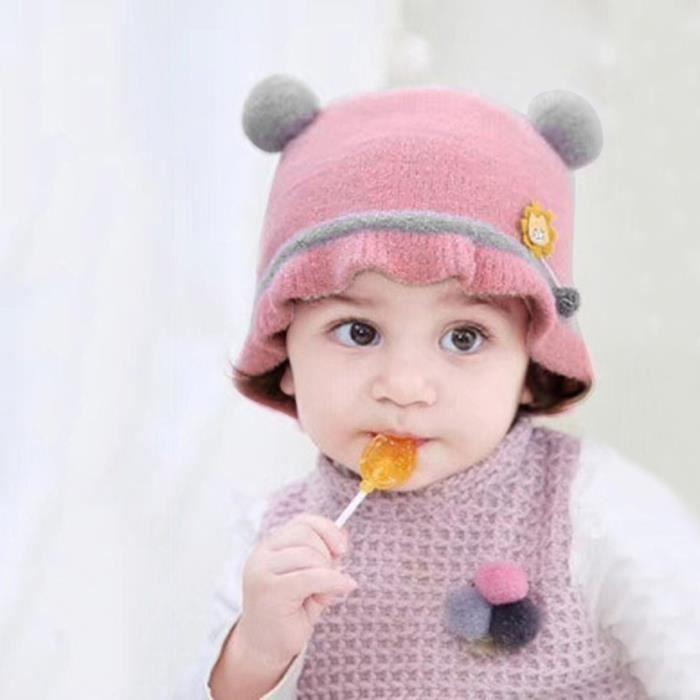 Soins bébéBonnet nouveau-né fille garçon bébé hiver chaud bande dessinée Earflap tricot crochet LYG91104211PP_YOU
