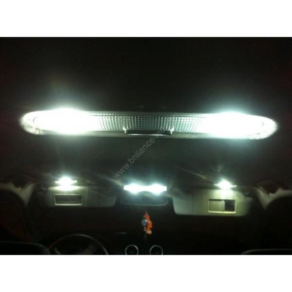 Pack led light blanc pur pour Bmw SErie 1 E81 E82 E87 E88