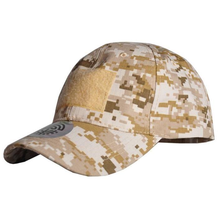 Chapeaux de Camouflage militaire Multicam réglables pour hommes, casquette Airsoft Snapback tactique de Baseball, [BCF92C1]