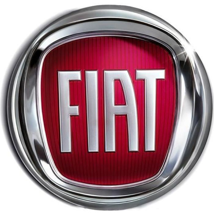 Blason Logo Auto arrière pour FIAT 500 de 2007 à 2015
