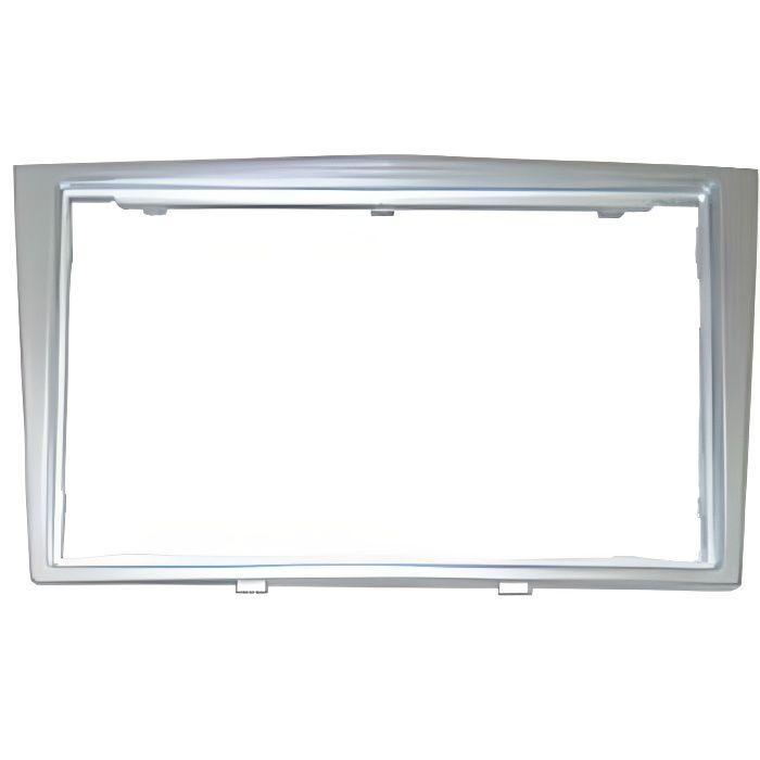 Adaptateur de façade d'autoradio Double DIN gris clair Opel Corsa 2006 >