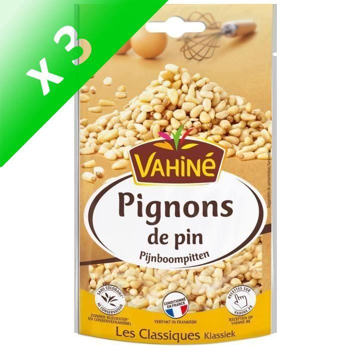 [LOT DE 3] Pignons de pin 50 g Vahiné