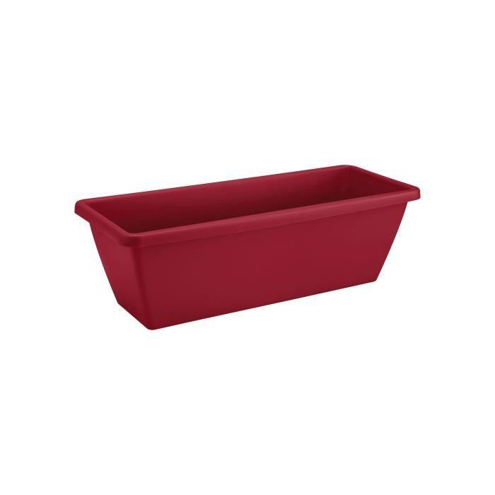 ELHO Balconnière Barcelona 40 - Fruits rouges - Extérieur & Balcon - L 19,5 x W 39,5 x H 15,6 cm