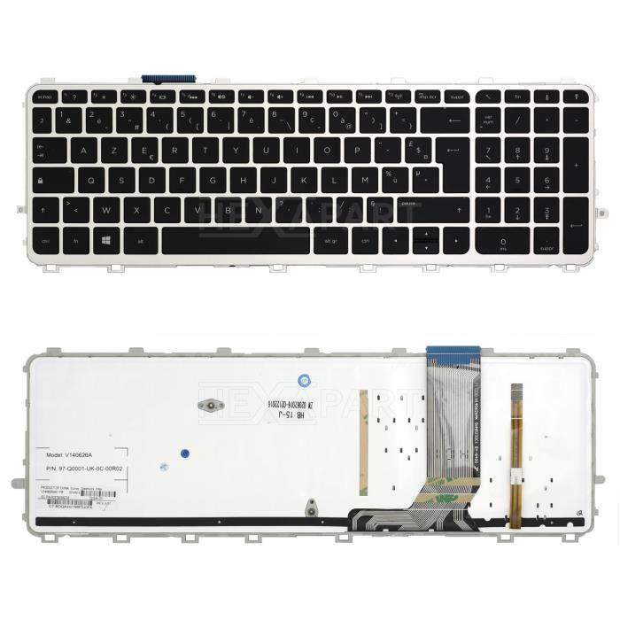 Rétroéclairé AZERTY Français Clavier for HP ENVY Touchsmart 15-J 17-J 720244
