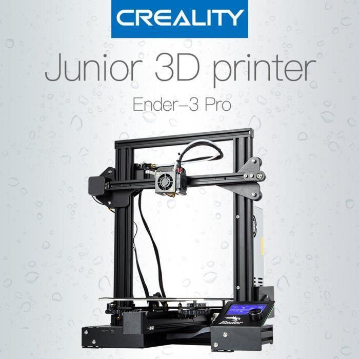 Creality Ender 3 Pro 3D Imprimante haute précision Diy kit taille d'impression 220*220*250mm