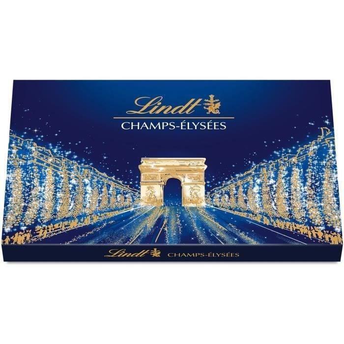 LINDT & SPRÜNGLI Champs-Elysées Boîte de chocolats Assortis - 182 g
