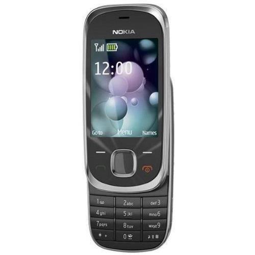 Nokia 7230 Orange Libre Control Coulissant, Couleur Graphite