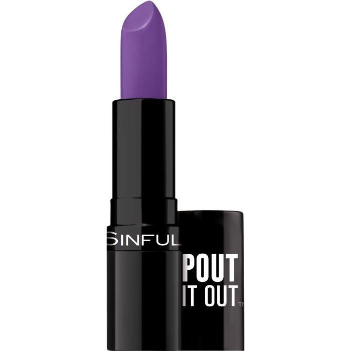SINFUL Rouge à lèvres Stick Pout It Out n°007 Small Talk - 4,2 g
