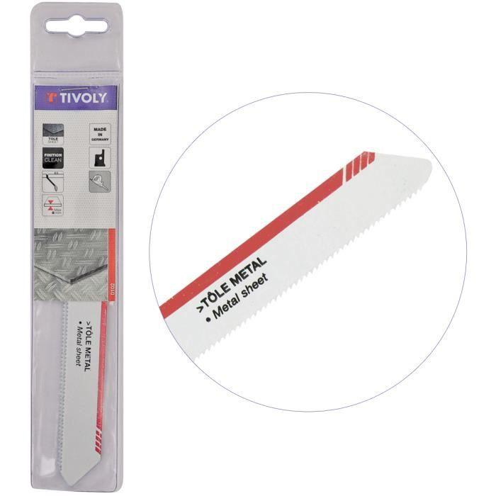Lame de scie sabre Tôle et Métaux L150mm - coupe tubes, plaques jusqu'à 10cm épaisseur - Haute Qualité HSS- TIVOLY